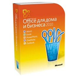 Office 2010 Home and Business Russian BOX